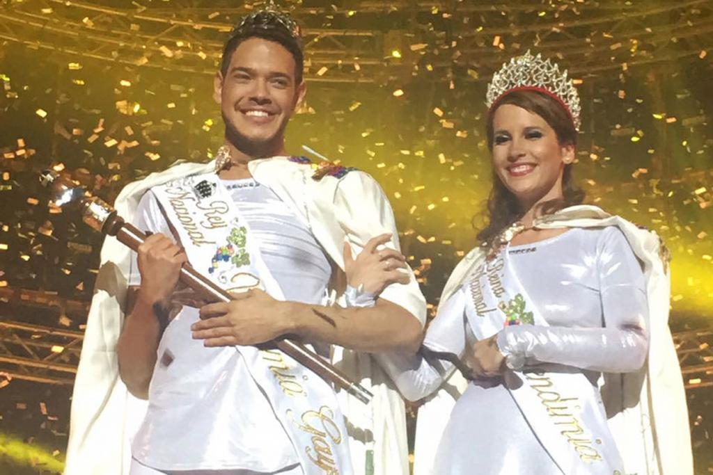 Marcos y Malén son los Reyes de la Vendimia Gay, Vendimia para Todos ...