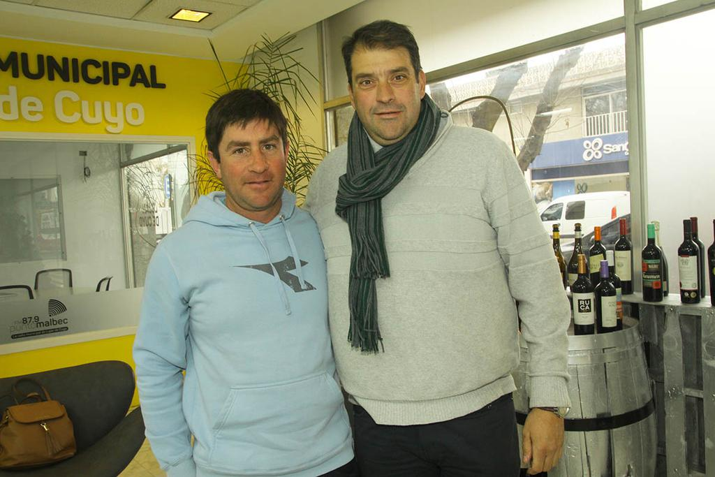 Federico Messina y Marcelo Lucena.