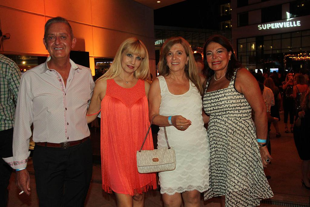 Edgar Mallmann, Claudia Farina, Silvana Fourcade y Silvia March.